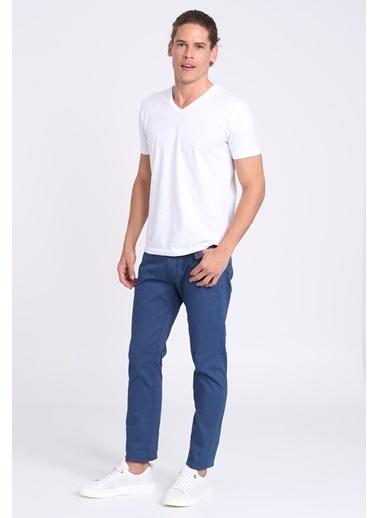 Lufian Denim Pantolon Lacivert